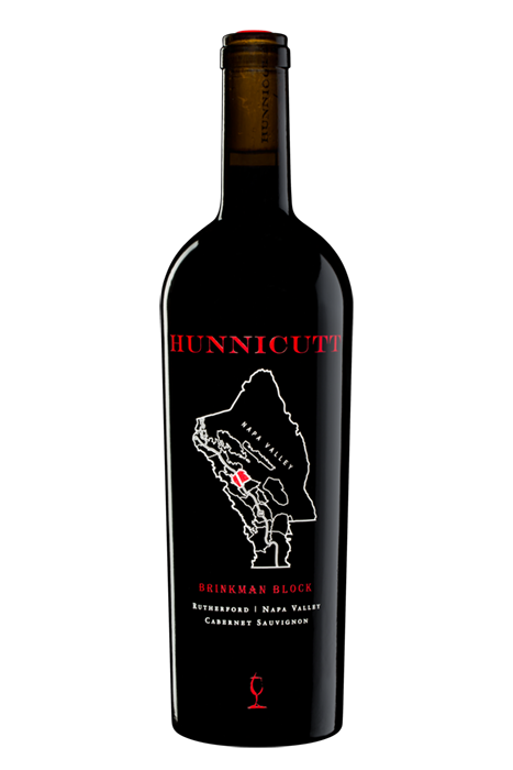 2018<br /> Cabernet Sauvignon,<br /> Brinkman Block bottle shot