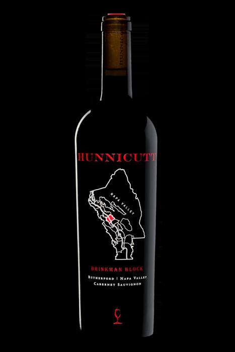 2017<br /> Cabernet Sauvignon, Rutherford AVA,<br /> Brinkman Block bottle shot