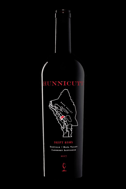 2017<br /> Cabernet Sauvignon, Oakville AVA,<br /> Drift Rows bottle shot